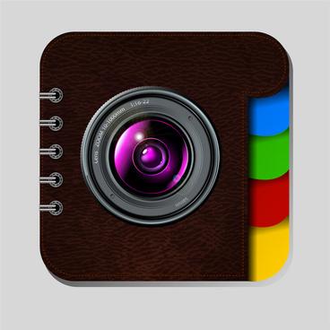 photos book icons