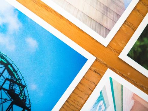photos on desk 2