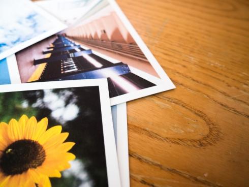 photos on desk 3