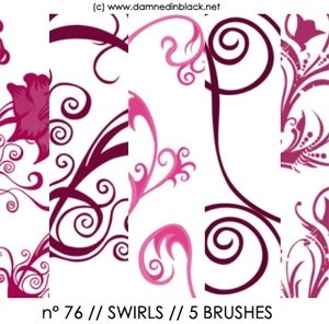 PHOTOSHOP BRUSHES: swirls
