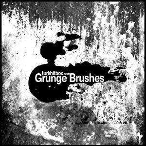 Photoshop Grunge Brush Set