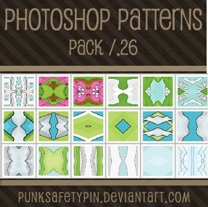 Photoshop Patterns - Pack 26