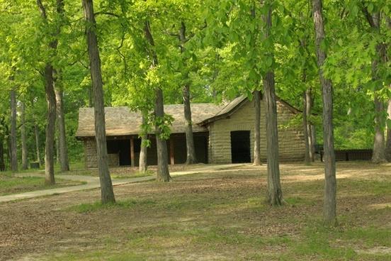 picnic area at cuivre river state park missouri