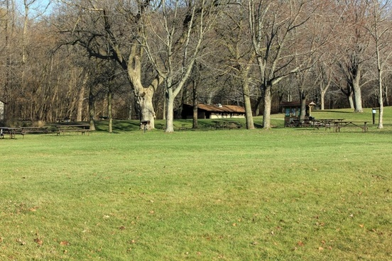 picnic area at pike lake state park wisconsin