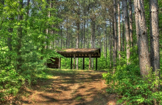 picnic place at hoffman hills state recreation area wisconsin