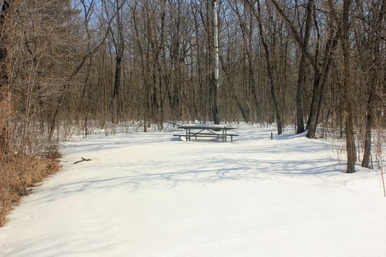 picnic place at minnesota valley state park minnesota