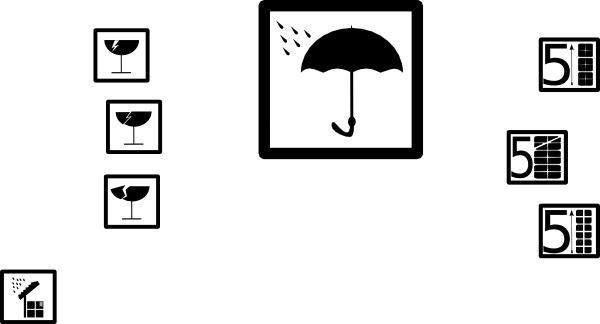 Pictograms Symbols clip art