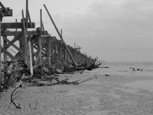 pier after hurricane katrina