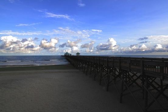 pier folly beach