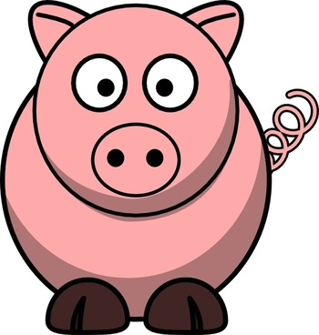 Pig vector. Peppa clipart free download