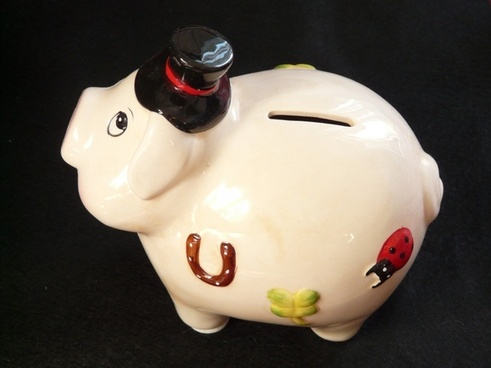 piggy bank pig savings bank