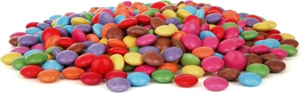pile of smarties