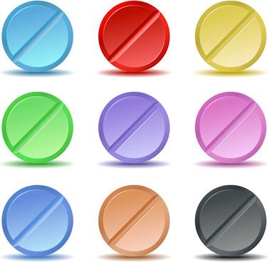pills design vector