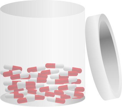 pills in tub