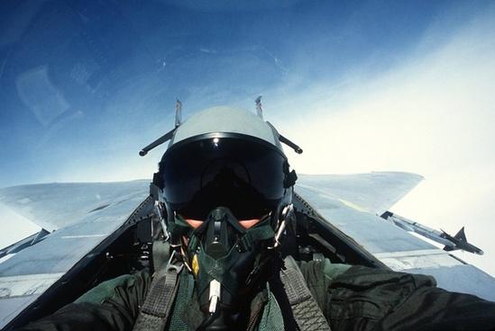 pilot fighter jet jet