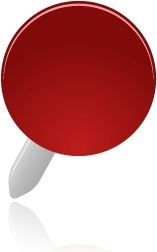 Pin red