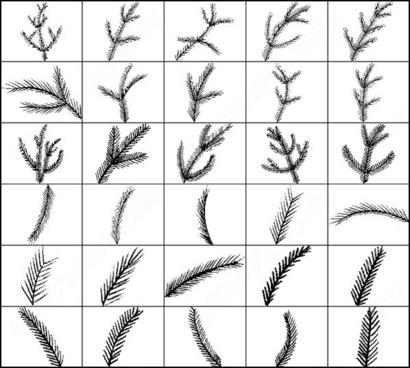 pine brush