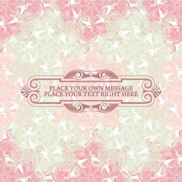 pink background pattern 01 vector