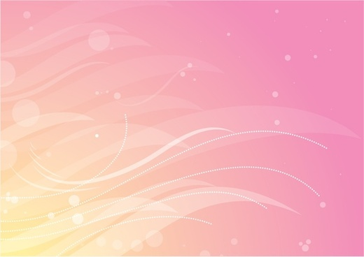 abstract background bokeh curves decor pink design