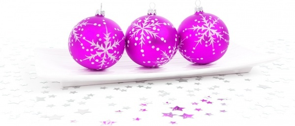 pink bauble decoration
