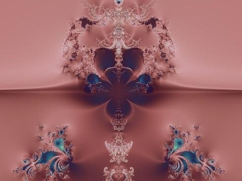 pink blue fractal