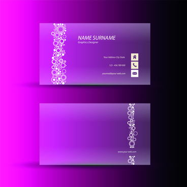 Pink business card background free vector download 61399 free pink business cards template design vector colourmoves