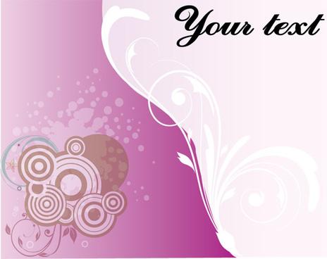 pink card vector art