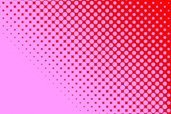 pink dots red