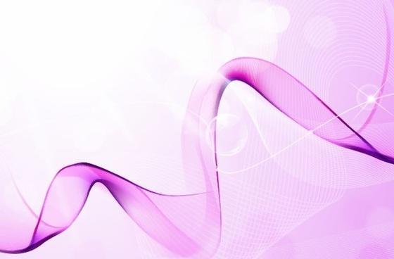 Pink Dreams Vector Background