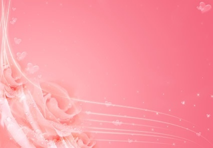 pink fantasy roses background picture