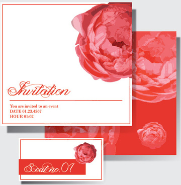 Pink Border Design Invitation Free Vector Download 8 543 Free