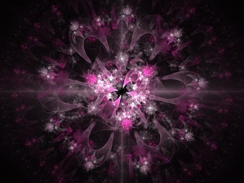 pink fractal