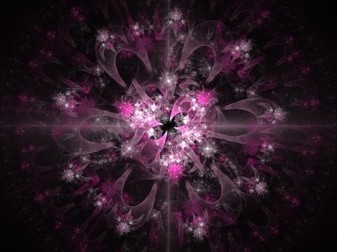 pink fractal fractals