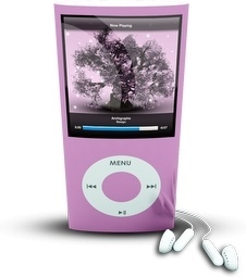 Pink iPod4rthGen