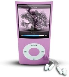 Pink iPod4rthGen