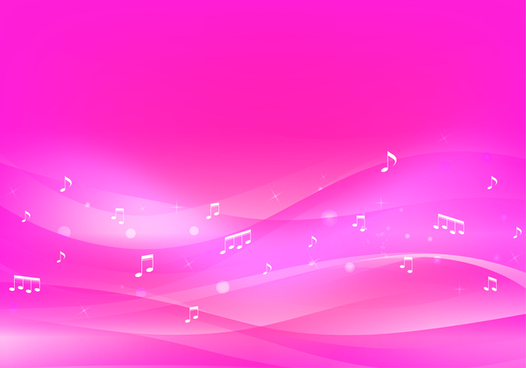 pink music background