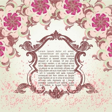 pink pattern background 05 vector
