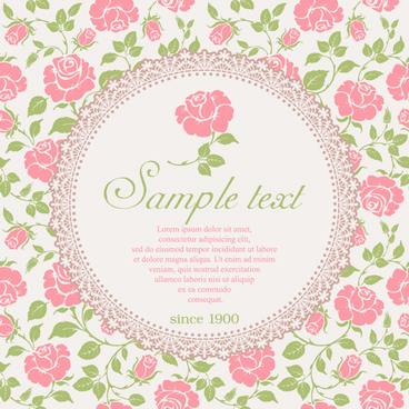 vintage pink rose background free vector download 60 049 free vector for commercial use format ai eps cdr svg vector illustration graphic art design vintage pink rose background free