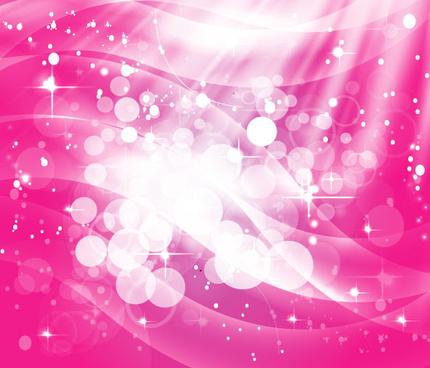 pink shinning stars