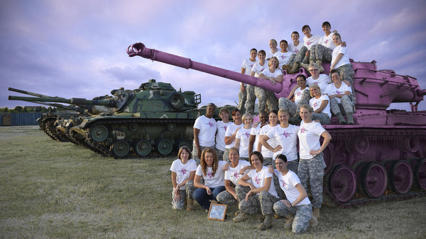 pink tank project