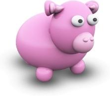 PinkCowPorcelaine