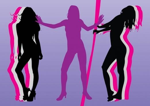 Pin-Up Girls Vectors