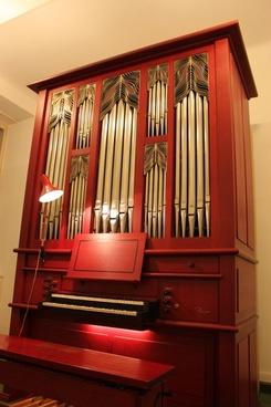 pipe organ instrument wood