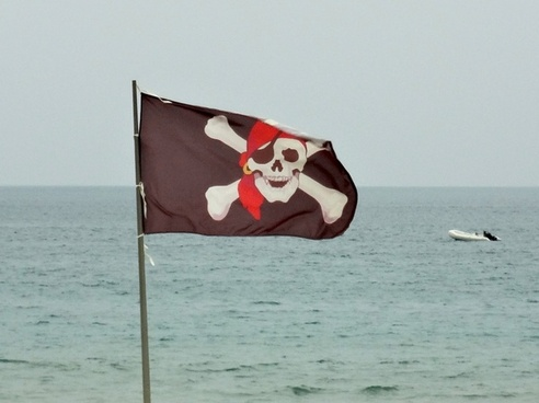 pirates flag skull and crossbones