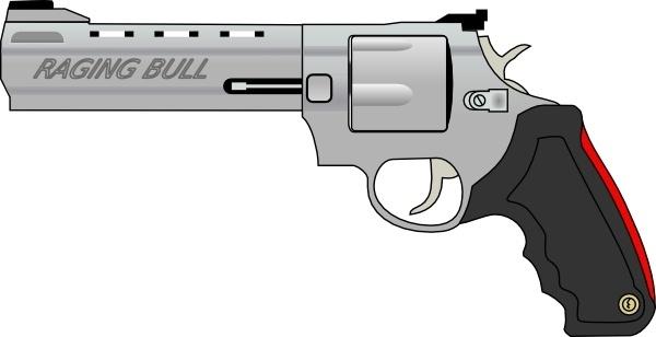Pistol Gun clip art