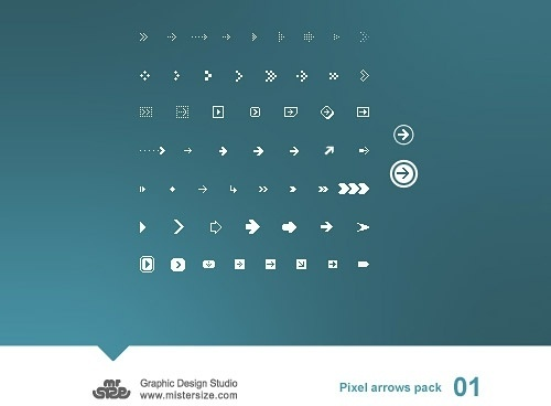 Pixel Arrows Pack 01