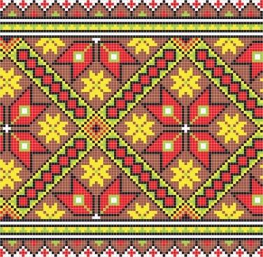 pixel pattern 03 vector