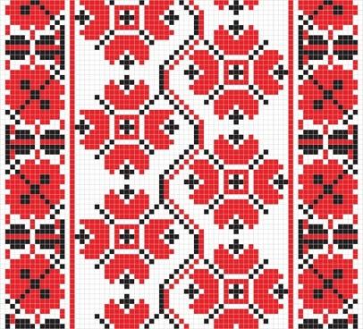 pixel pattern 04 vector