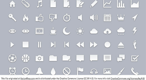 pixelglyph icons set