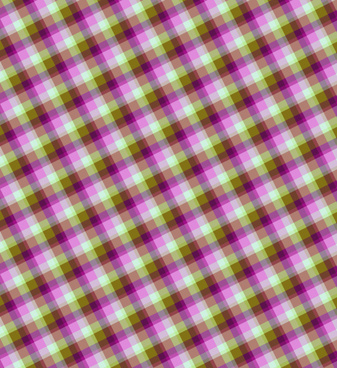 plaid seamless vector pattern